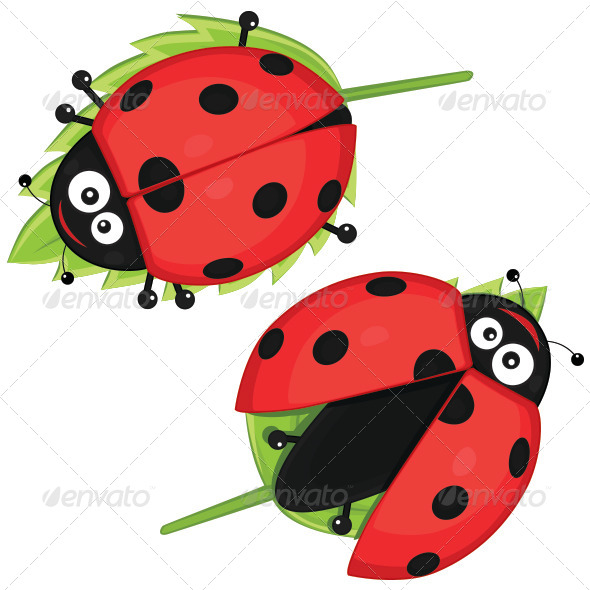 GraphicRiver Ladybugs 8103763