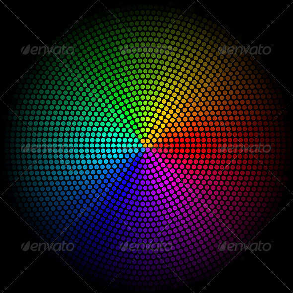 GraphicRiver Spectrum Circle 8103986
