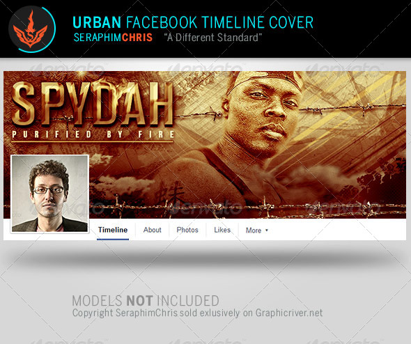 GraphicRiver Spydah Urban Facebook Timeline Cover Template 8104136