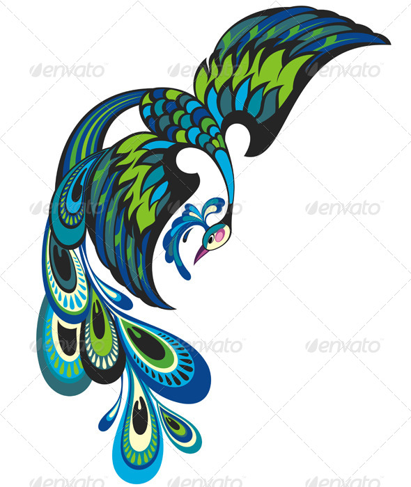GraphicRiver Peacock 8104703