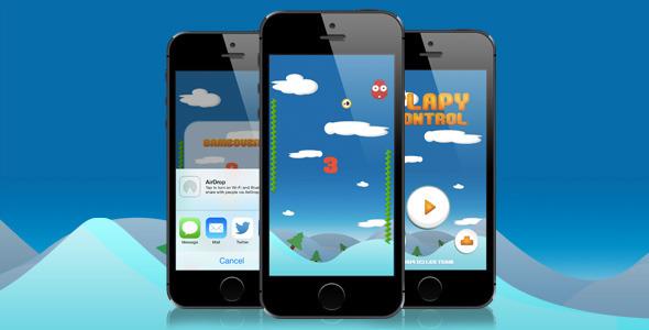 CodeCanyon Flappy Control AdMob iAd 8104845