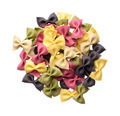 Heap of multicolor uncooked farfalle pasta - PhotoDune Item for Sale