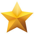 Gold five-pointed star. - PhotoDune Item for Sale