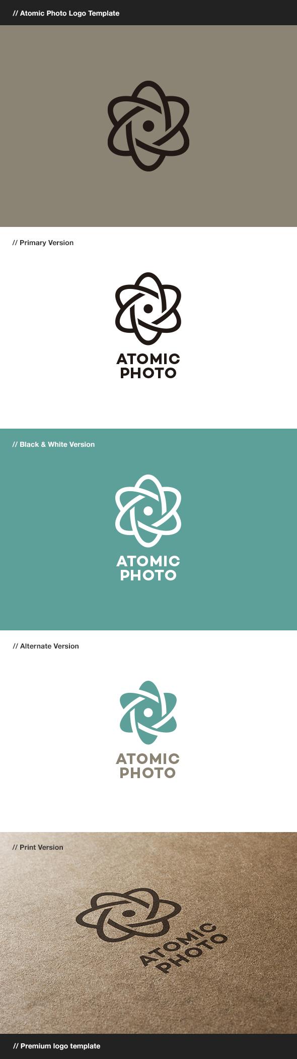 GraphicRiver Atomic Photo 8104990