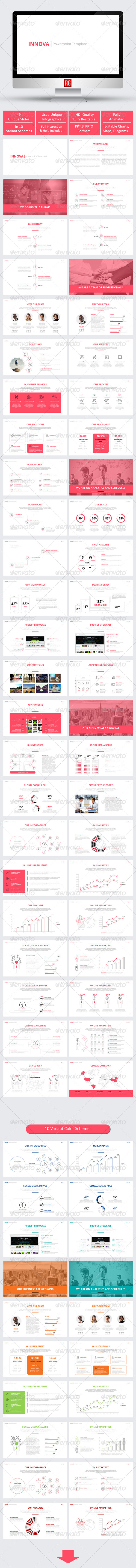 GraphicRiver Innova Powerpoint Template 8105095