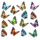Set of Realistic Butterflies - GraphicRiver Item for Sale