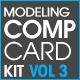 Model Comp Card Template Kit Vol. 3 - GraphicRiver Item for Sale