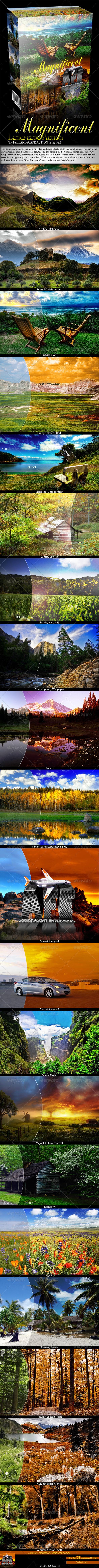 GraphicRiver Magnificent Landscape Action 831410