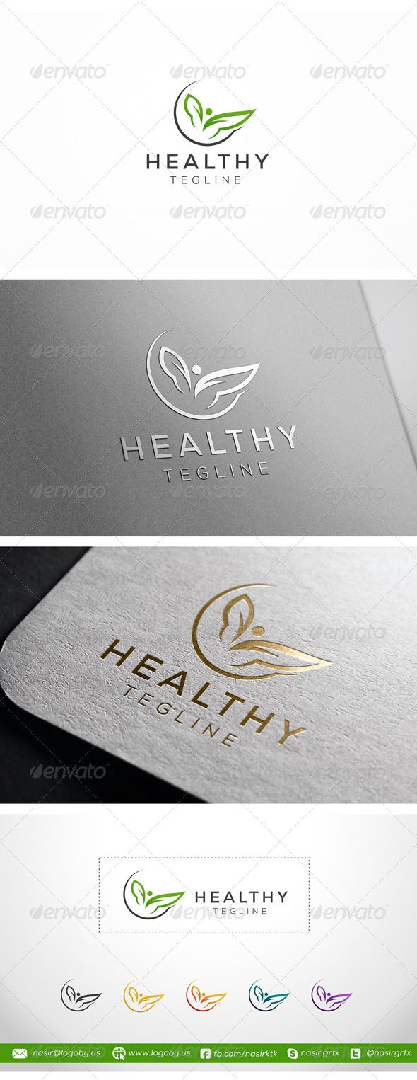 GraphicRiver Healthy Leaf 8106248