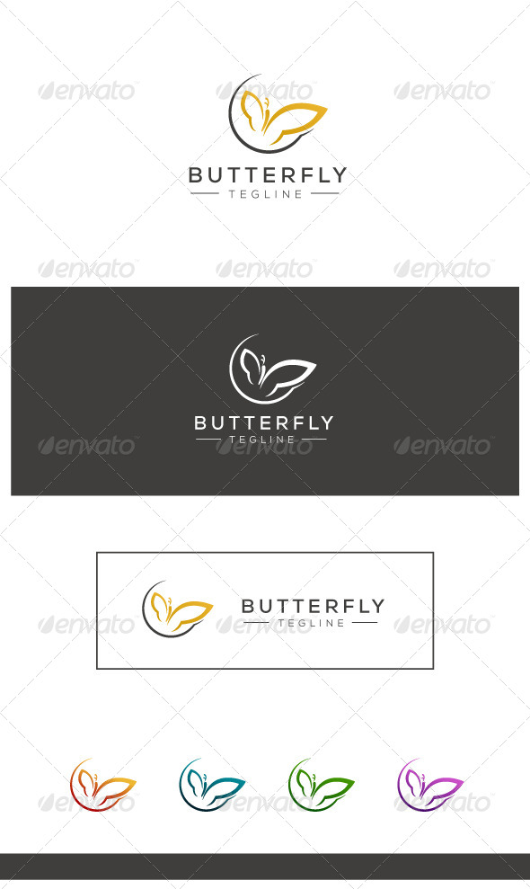 GraphicRiver Butterfly Logo 8106367