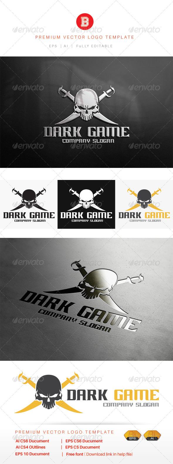 GraphicRiver Dark Game 8106503