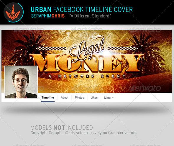 Legal Money Urban Facebook Timeline Template