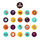 This is the Summer Icons - GraphicRiver Item for Sale