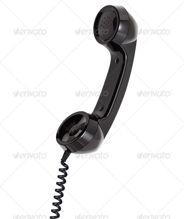 GraphicRiver Handset of Telephone 8107006