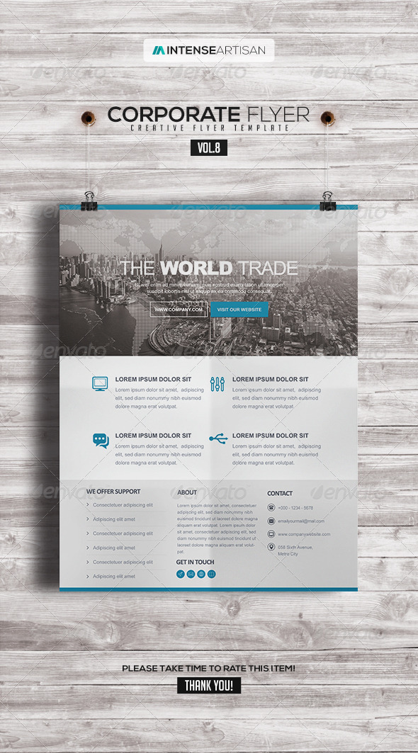 GraphicRiver Corporate Creative Poster Flyer V.8 8107021