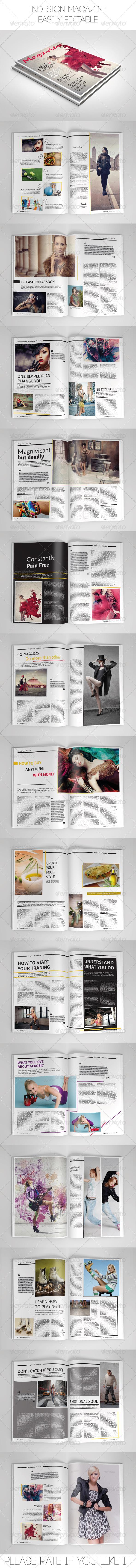 Magzview Magazine Template
