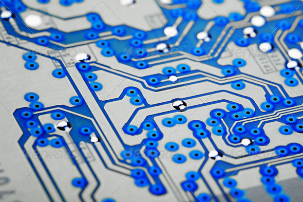 PhotoDune Surface of electronic card 831812