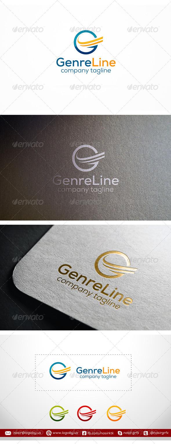 GraphicRiver Genre Lines Letter G 8107543