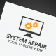 System Repair Logo - GraphicRiver Item for Sale