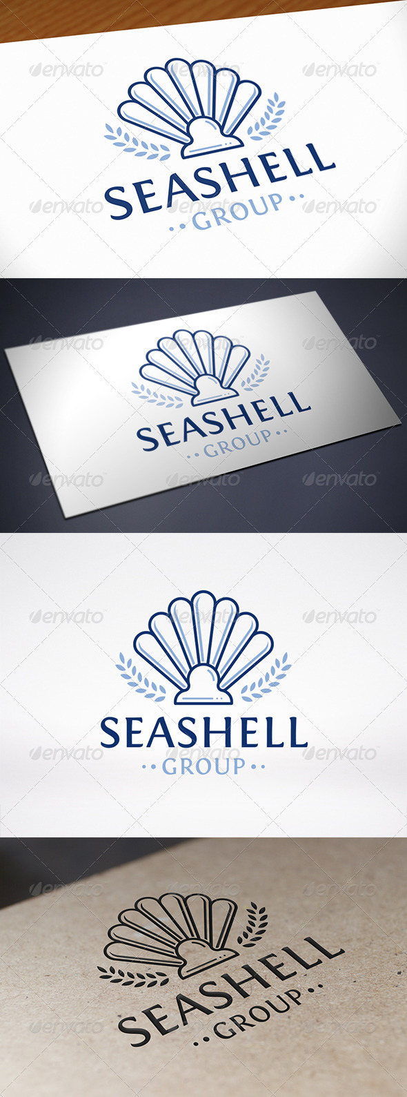 GraphicRiver Sea Shell Logo Template 8107668