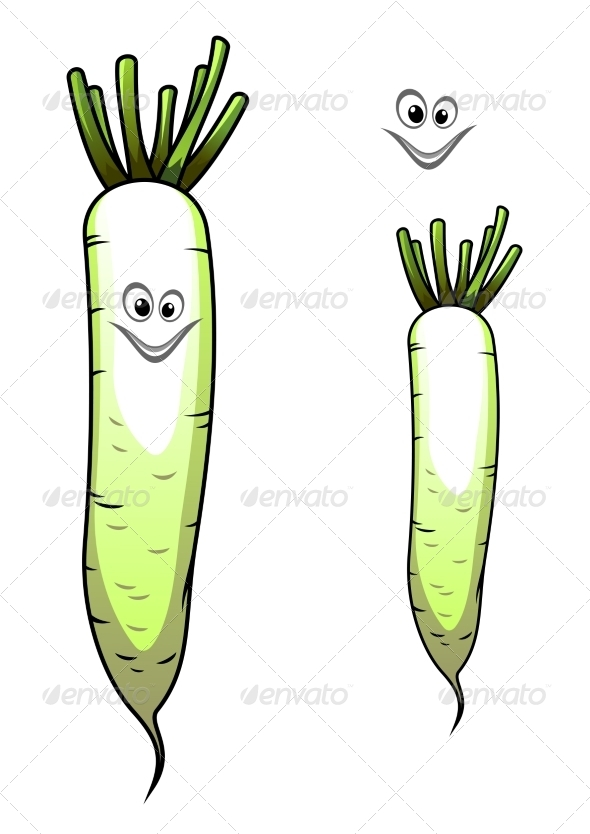 GraphicRiver Parsnip Cartoon 8108101