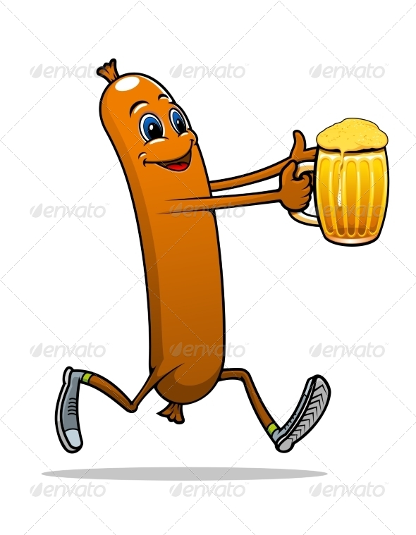 GraphicRiver Sausage with Beer 8108238