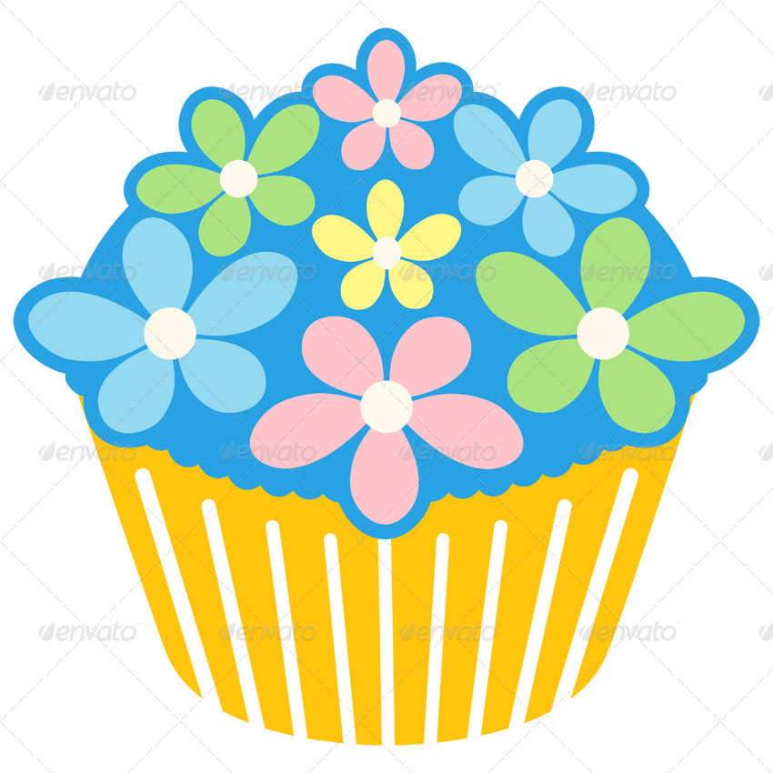 Cupcake Design Png : 5 Cupcake Designs by ragerabbit GraphicRiver