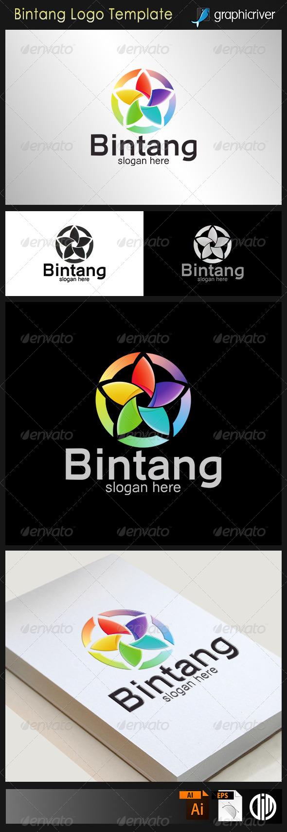 GraphicRiver Bintang Star Logo 8108444