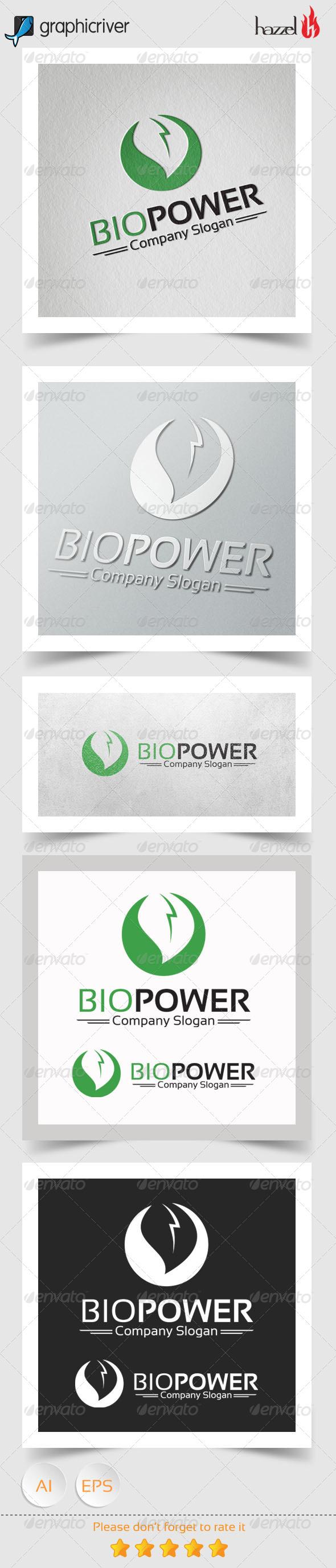 GraphicRiver Bio Power Logo 8108459