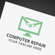 Computer Repair Logo - GraphicRiver Item for Sale