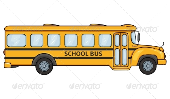 GraphicRiver School Bus 8108865