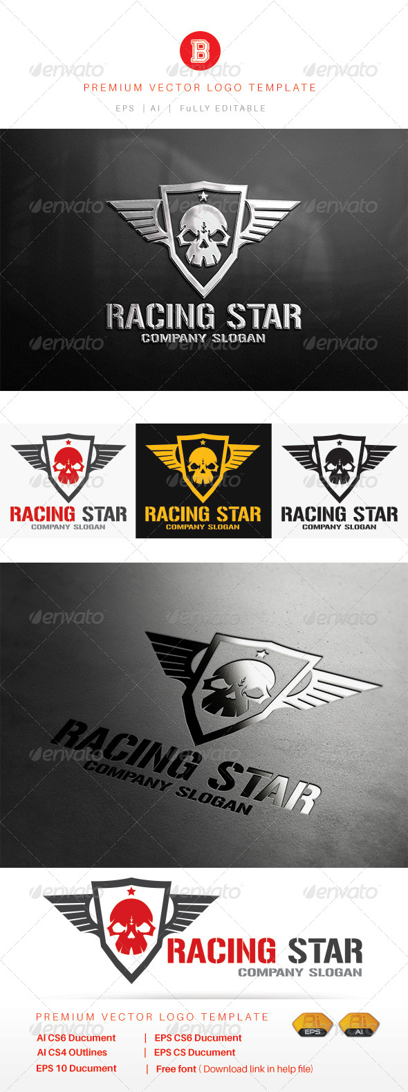 GraphicRiver Racing Star 8109505