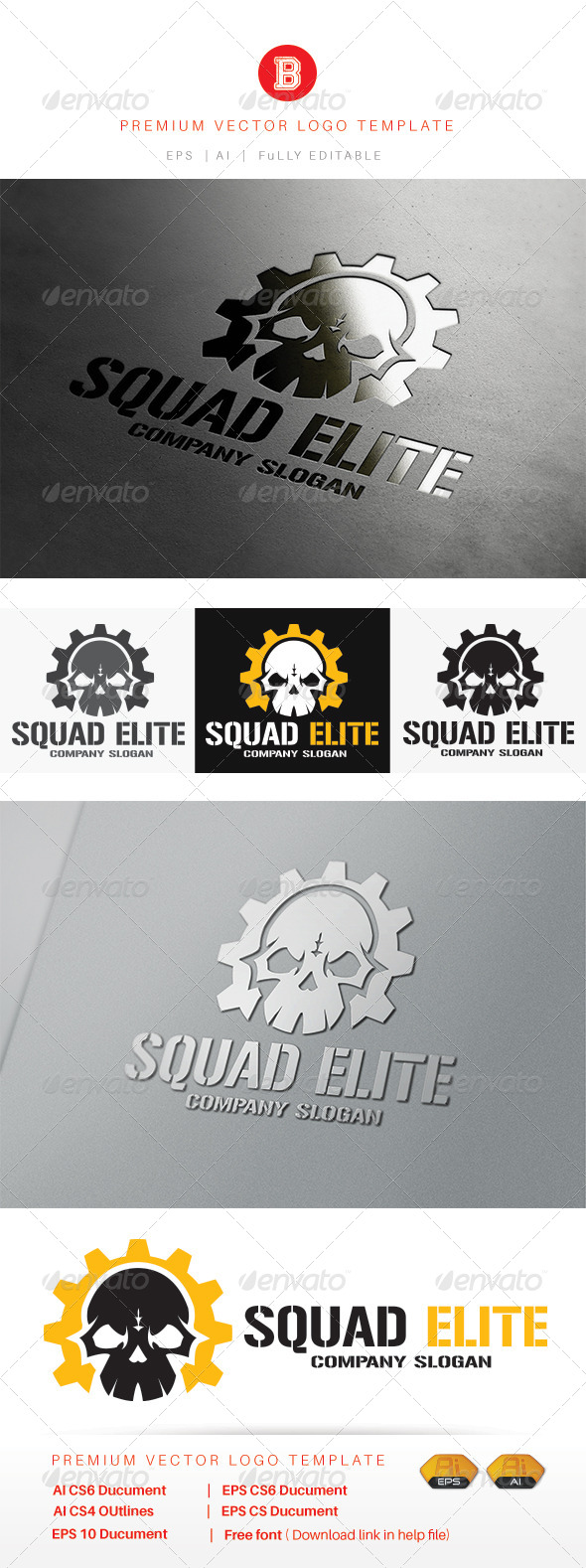 GraphicRiver Squad Elite 8109518