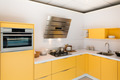 Modern kitchen with steel oven and hood - PhotoDune Item for Sale