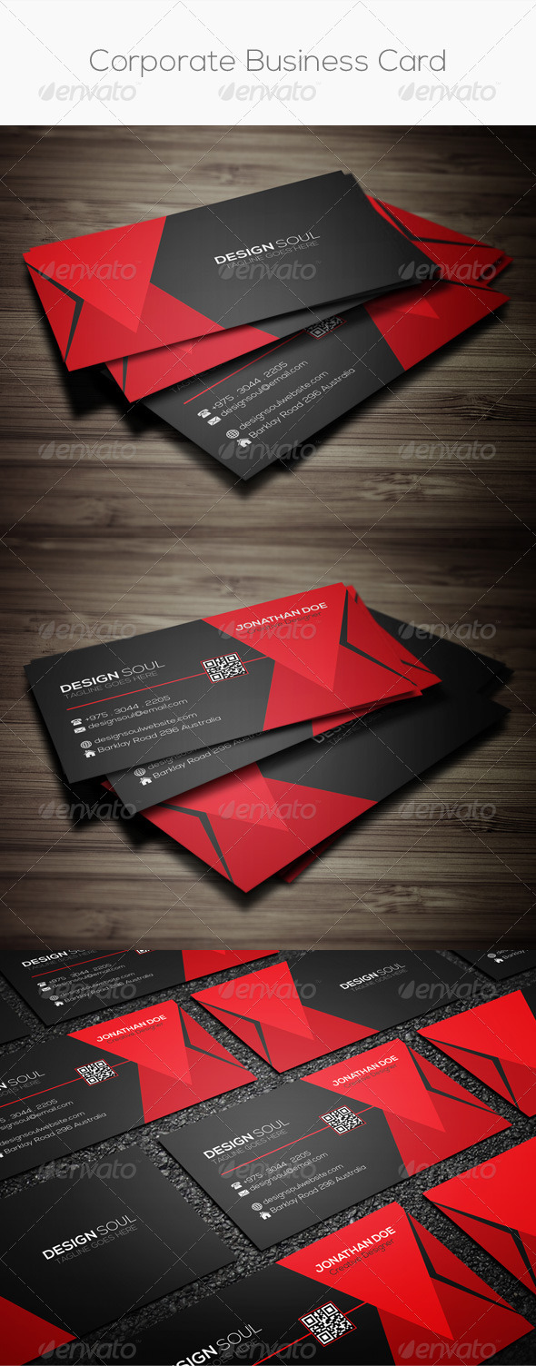 GraphicRiver Corporate Business Card 8109707