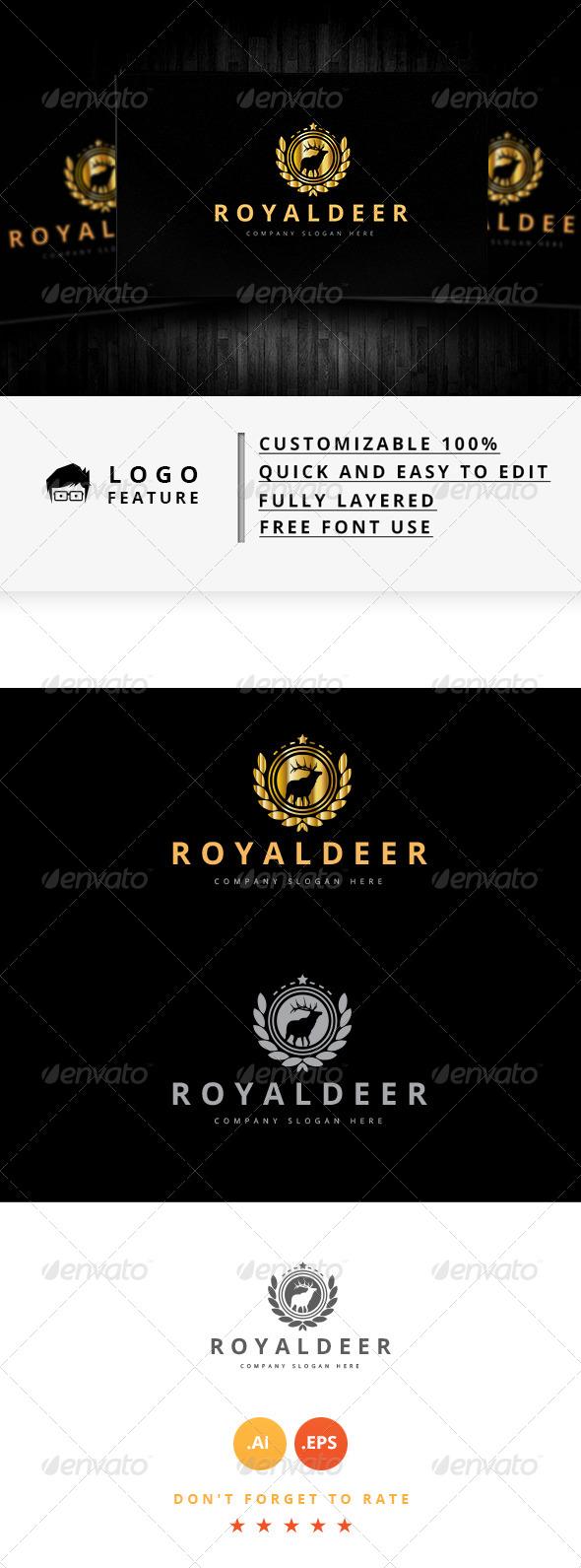 GraphicRiver Royal Deer 8103350