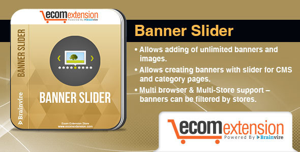CodeCanyon Magento Banner Slider Extension 8109879