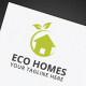 Eco Homes Logo - GraphicRiver Item for Sale