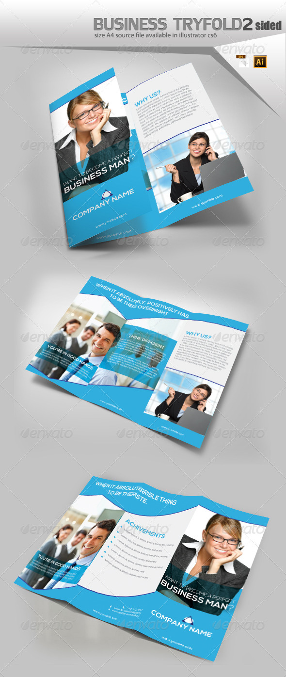 GraphicRiver Services TriFold Brochure 8111237