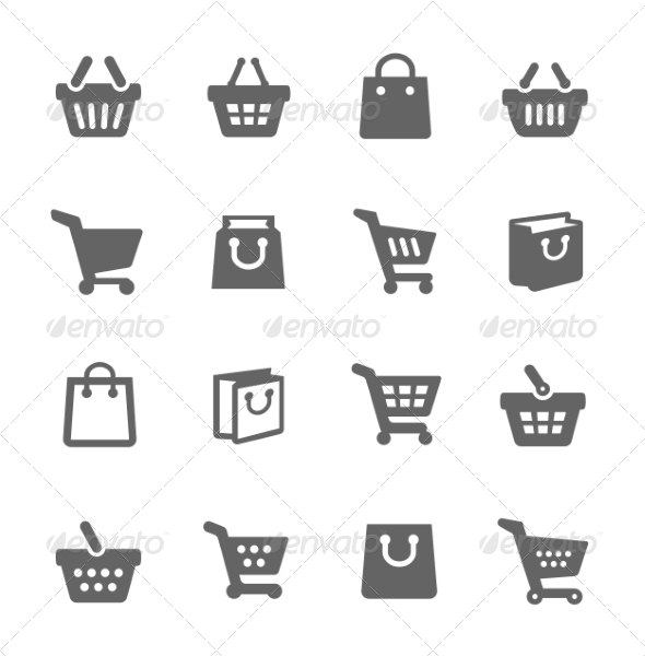 GraphicRiver Shopping Bags and Carts 8111590