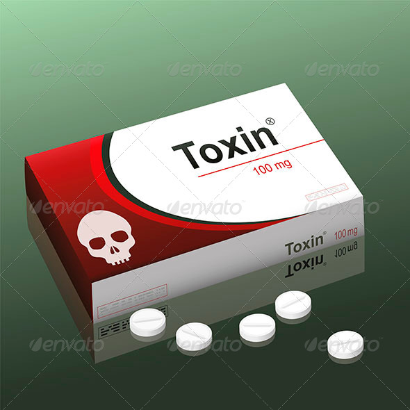 GraphicRiver Pills Toxin 8111631