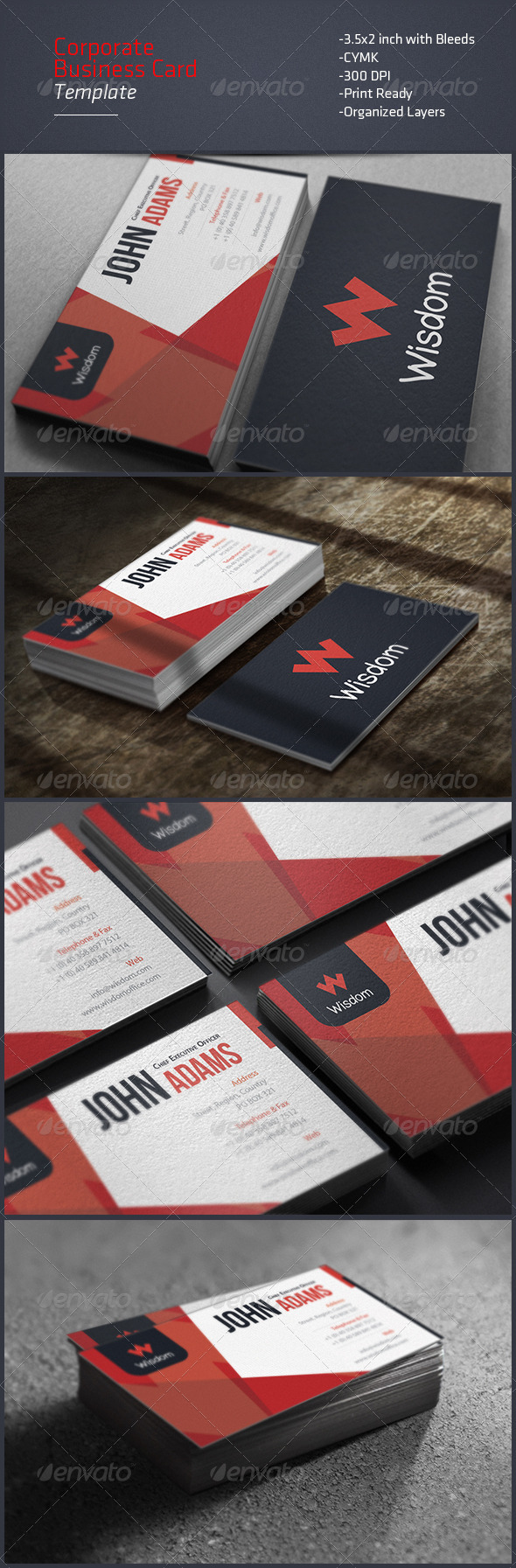 GraphicRiver Corporate Business Card 8111676