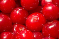 Cherries Close Up In Fruit Market - PhotoDune Item for Sale