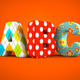 ABC word on orange background - PhotoDune Item for Sale