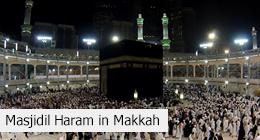 Masjidil Haram in Makkah