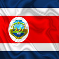 Costa Rica Waving Silk Flag - PhotoDune Item for Sale