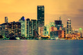 CIty of Miami, summer sunset - PhotoDune Item for Sale