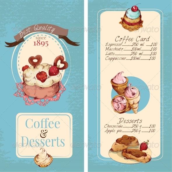 GraphicRiver Desserts Menu Template 8112625