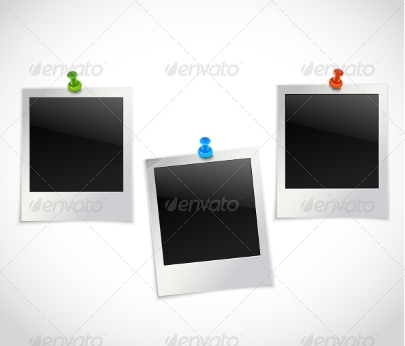 GraphicRiver Photo Frames with Pushpins 8112651
