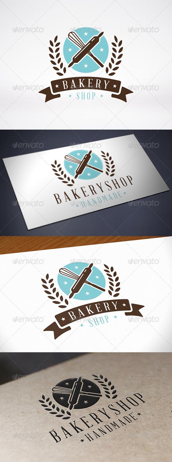 GraphicRiver Bakery Logo Template 8112694